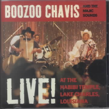 LIVE! AT THE HABIBI TEMPLE, LAKE CHAR BY CHAVIS,BOOZOO (CD)