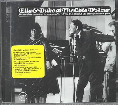 ELLA & DUKE AT THE COTE D'AZUR BY FITZGERALD,ELLA (CD)